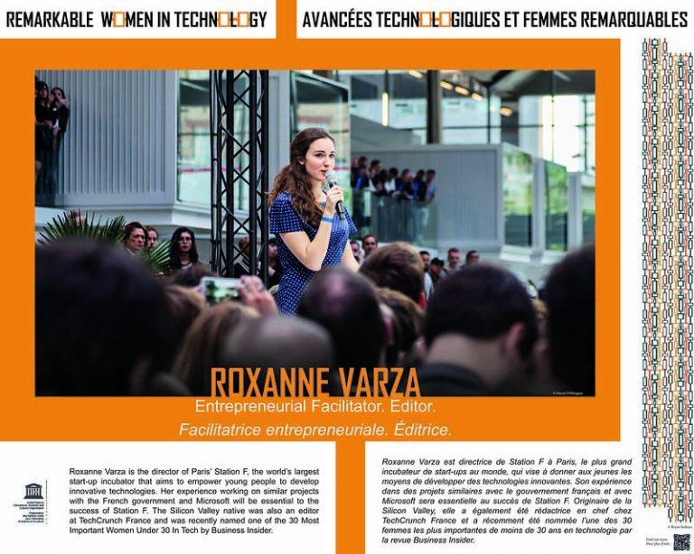 Roxanne Varza - Directrice de la Station F