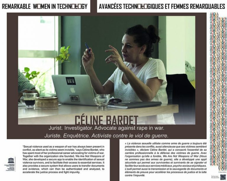 Céline Bardet - Fondatrice de We Are Not Weapons of War
