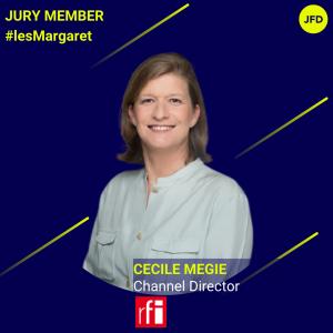 Cécile Mégie - Jury les Margaret - Insta